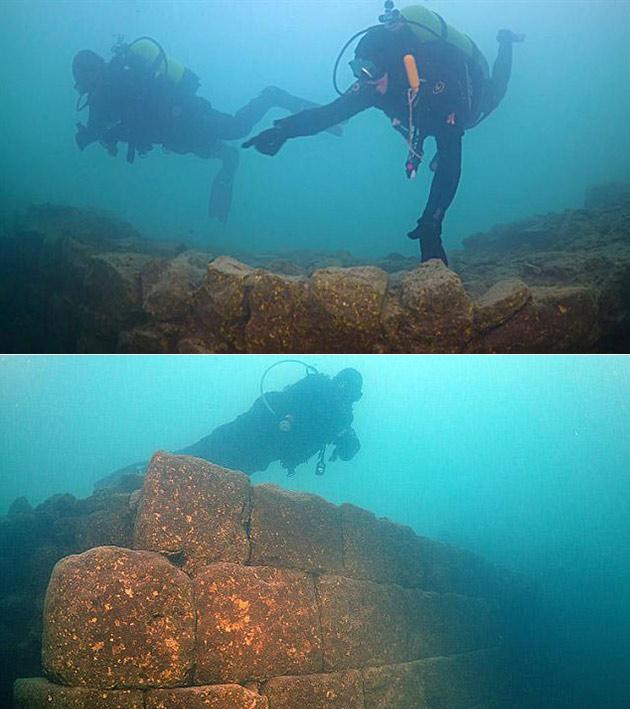 Underwater Fortress Turkey