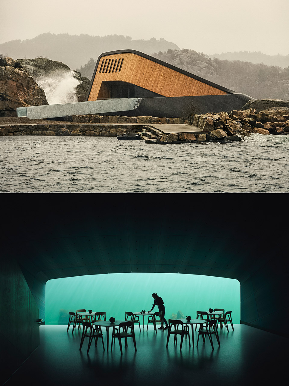 Underwater Restaurant Norway
