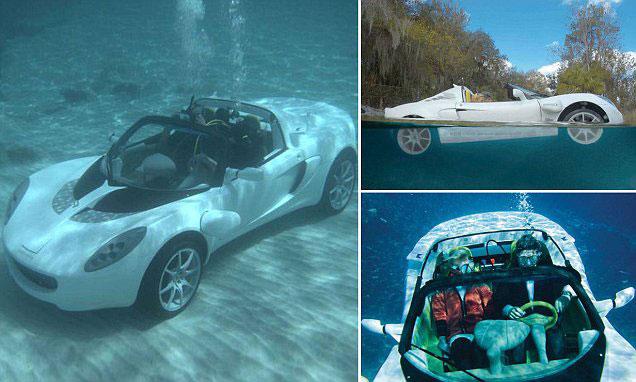 Underwater Sports Car