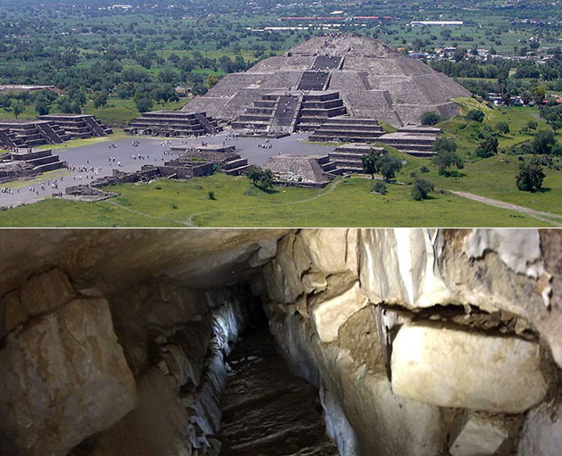 Mexico Pyramid Underworld