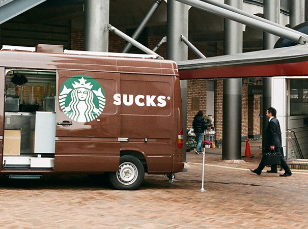 Unfortunate Starbucks Sign