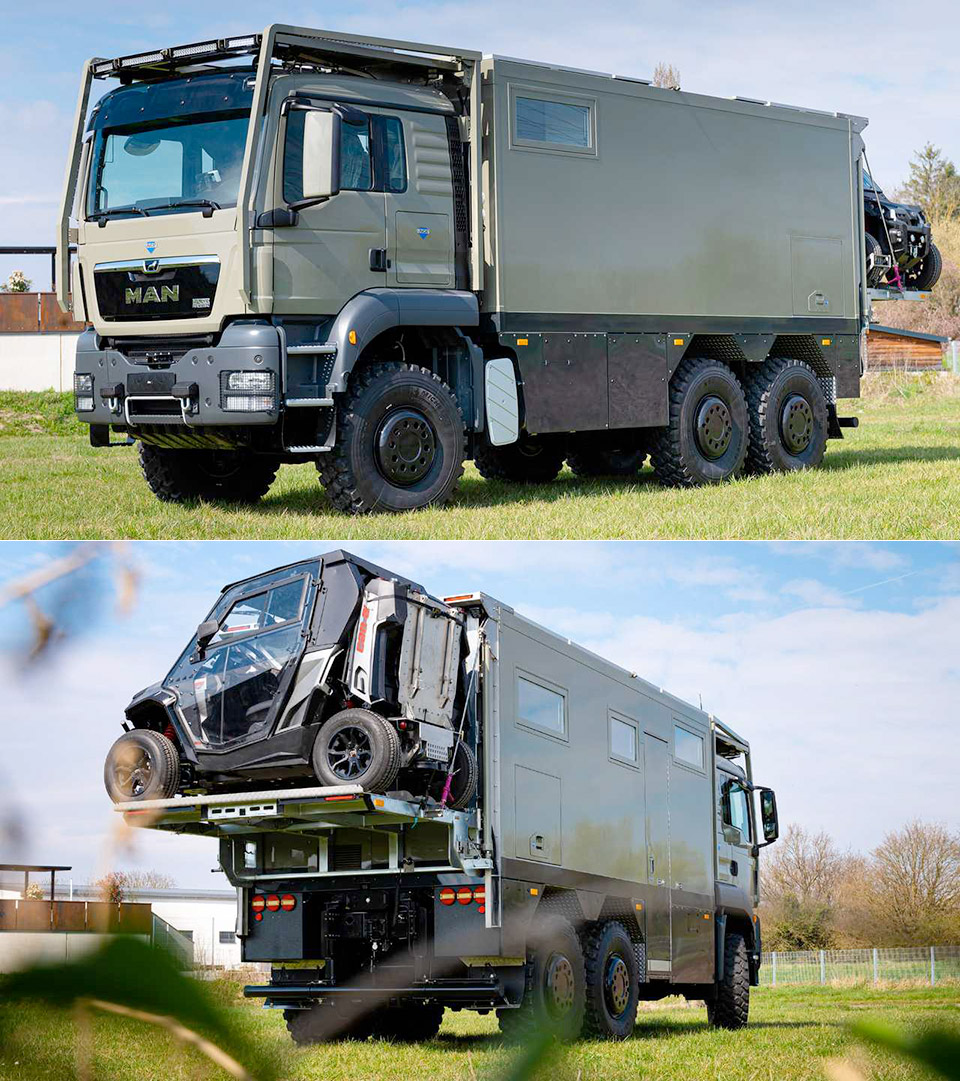 Unicat 6x6 MD56c Expedition Vehicle