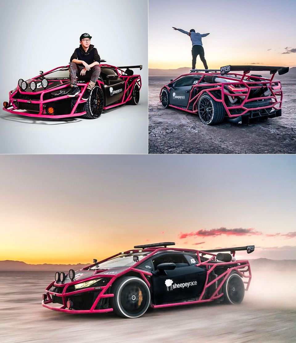 Unicorn V3 Twin-Turbo Lamborghini Rally Car