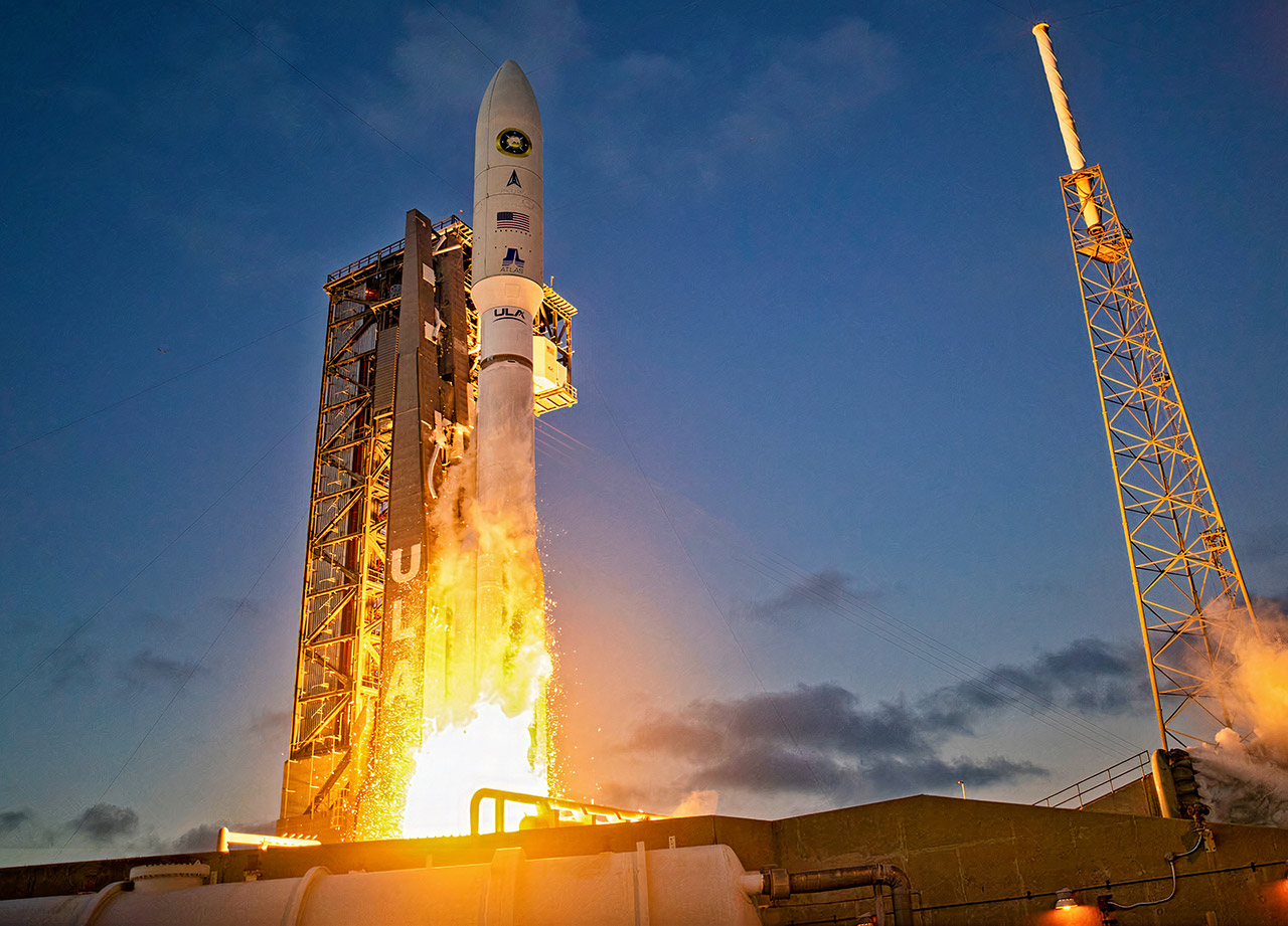United Launch Alliance Atlas V NROL-101 Satellite Mission