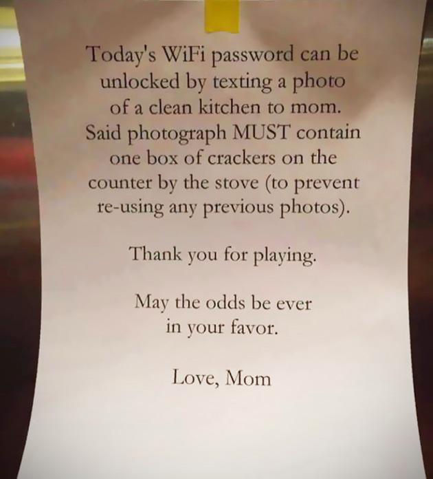 Unlock WiFi Password