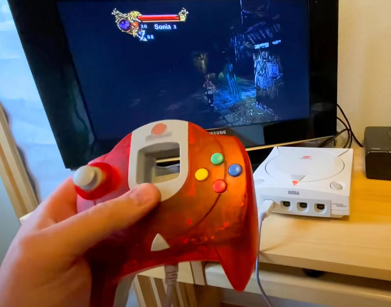 Unreleased Konami Castlevania Resurrection SEGA Dreamcast