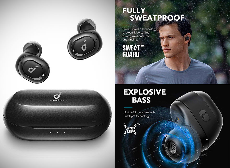 Upgraded Anker Soundcore Liberty Neo True Wireless Earbuds