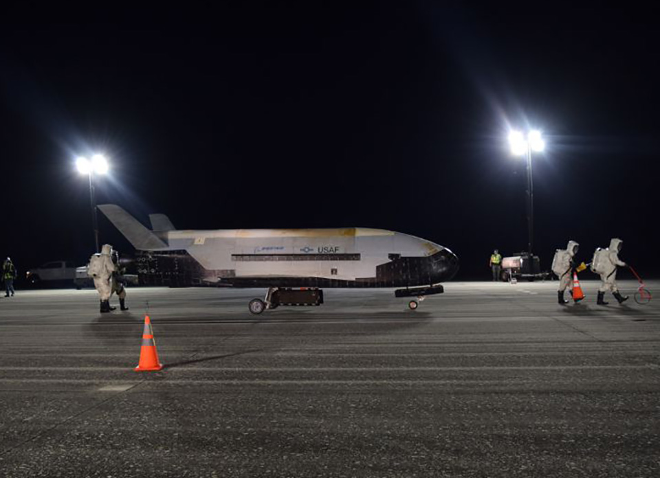 US Air Force Boeing X-37 Spaceplane Mission