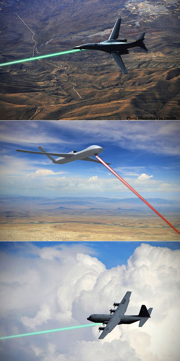 US Air Force Laser Weapons