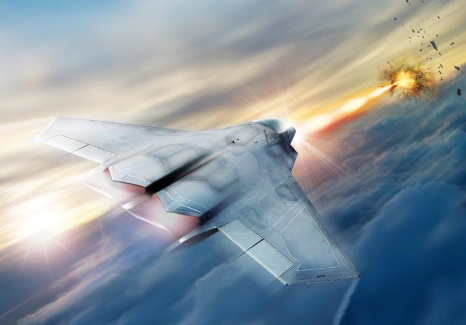 US Air Force SHIELD Laser System