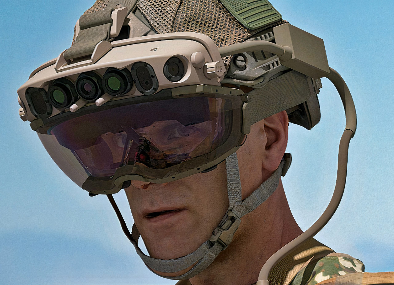 US Army IVAS Microsoft Hololens