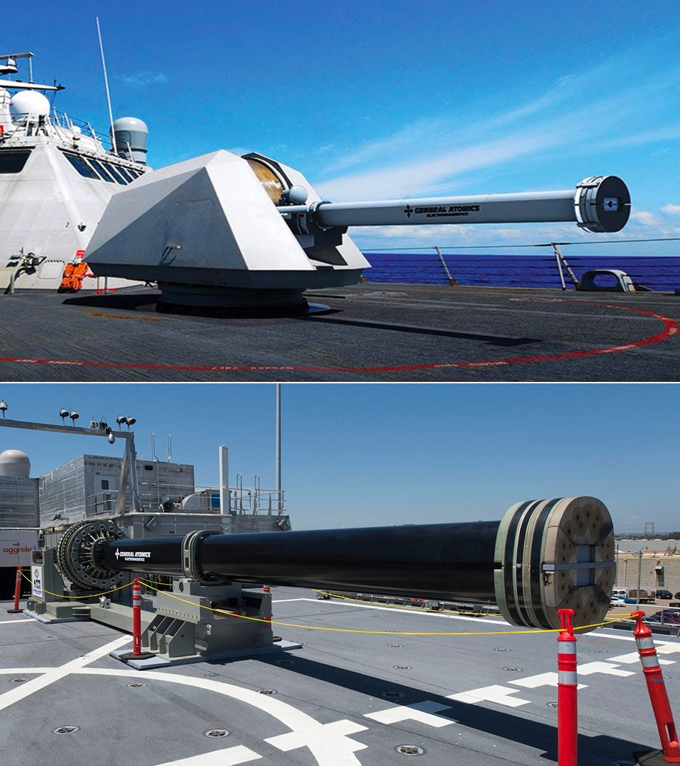 US Navy Electromagnetic Railgun