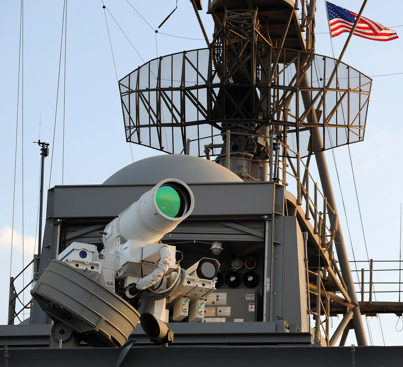 US Navy Laser Weapon System LaWS
