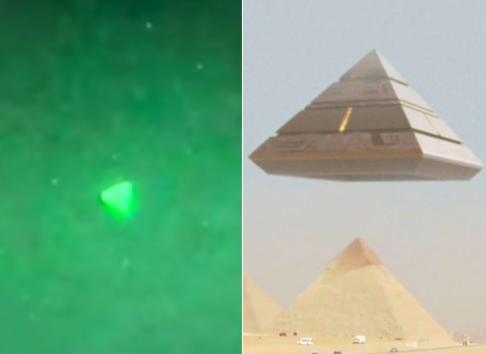 US Navy Pyramid UFO