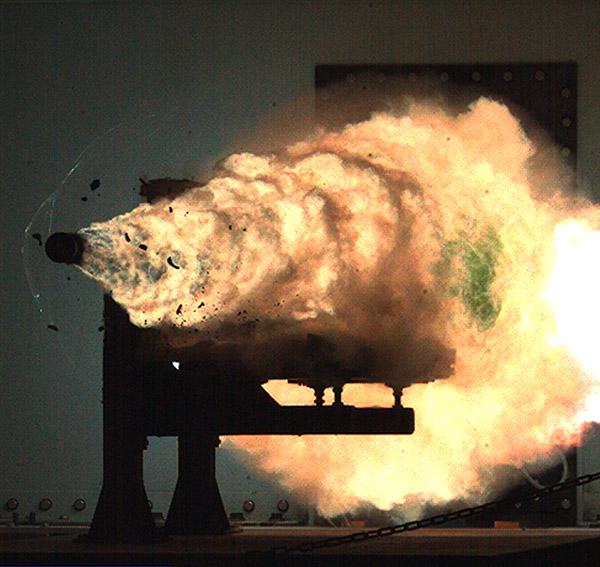 US Navy Railgun