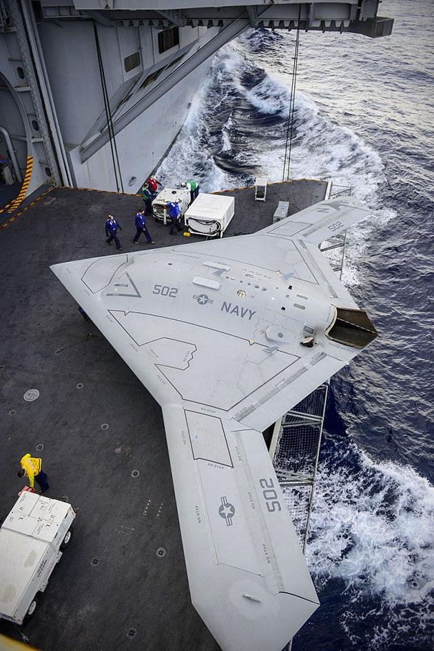 US Navy X-47B