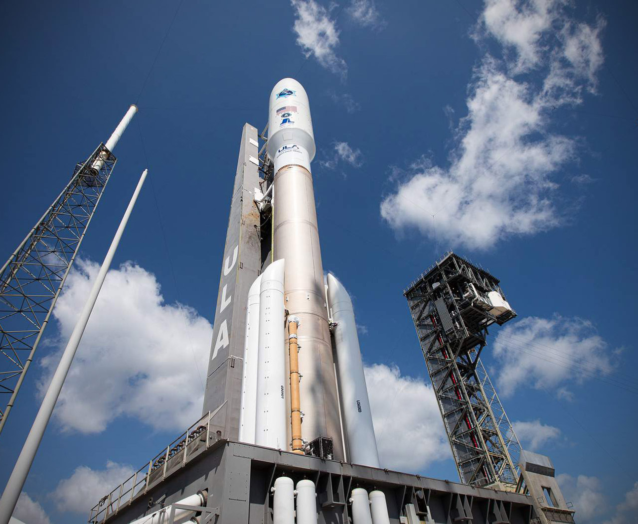 US Space Force Atlas V Rocket Launch