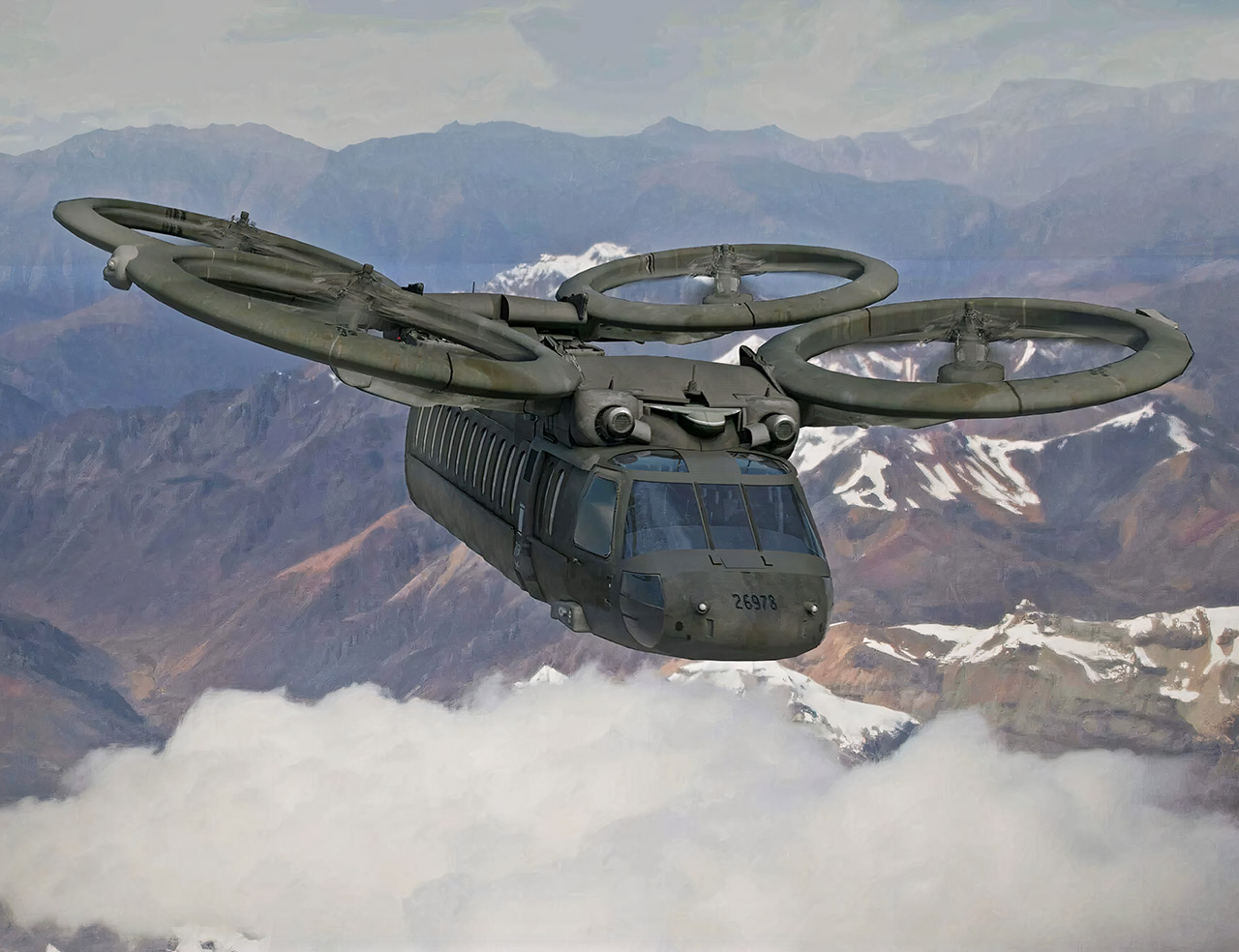 US Army VTOL Stealth Helicopter