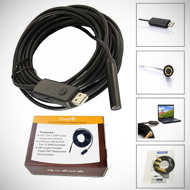USB Snake Camera Endoscope