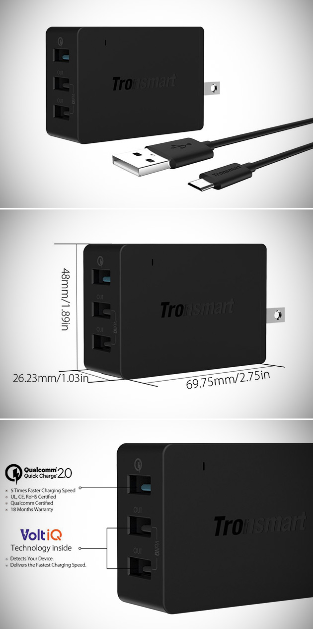 USB Travel Charger