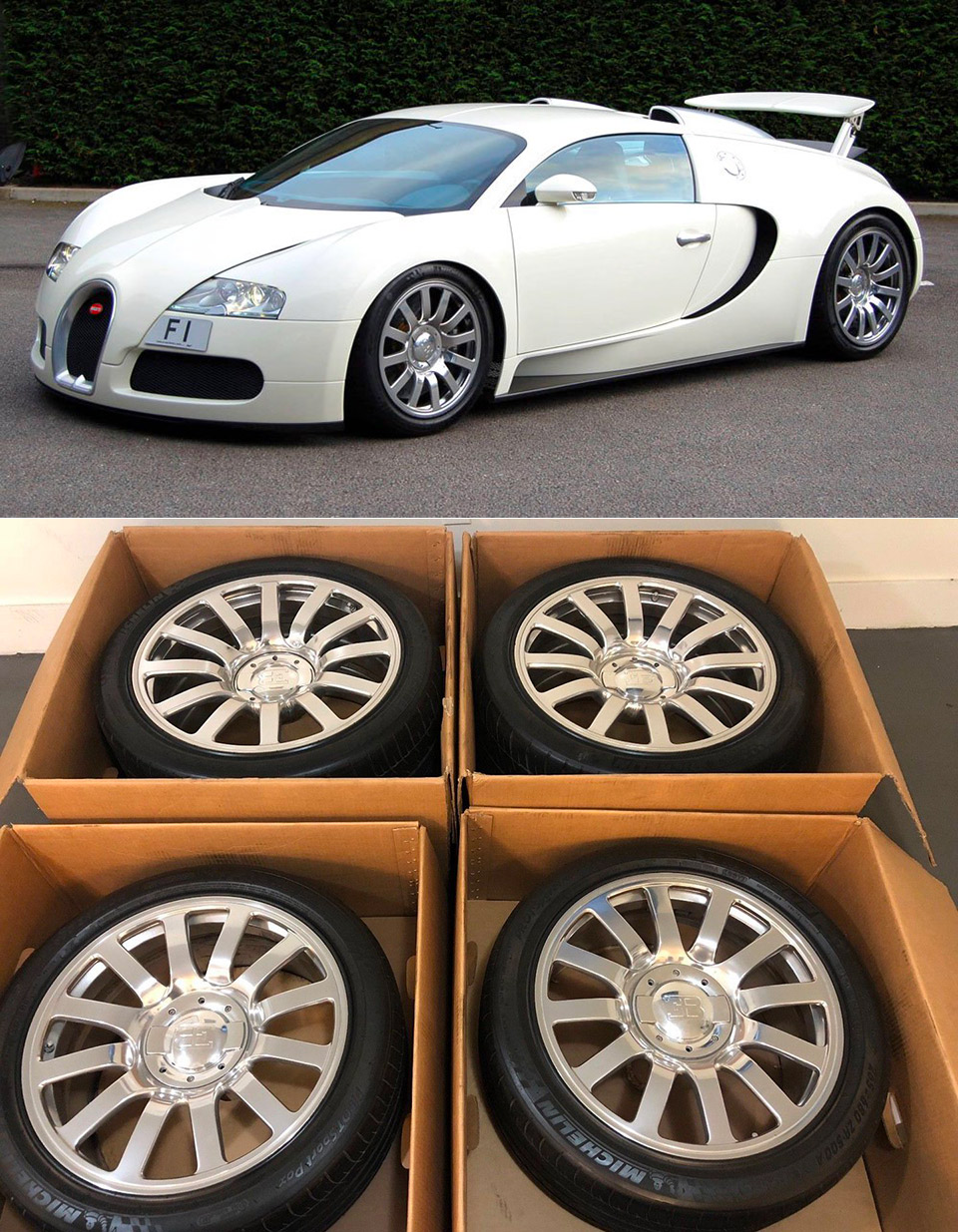 Used Bugatti Veyron Wheels
