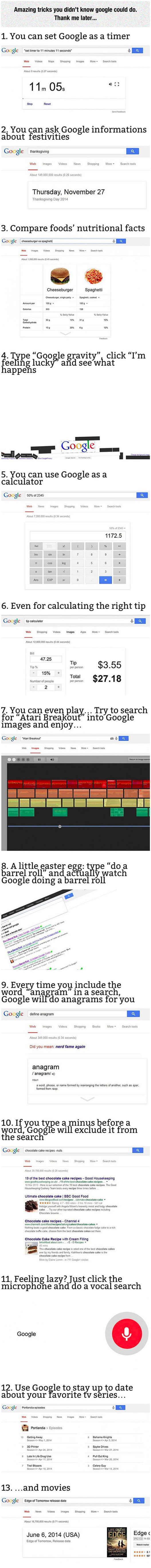 Useful Google Tricks