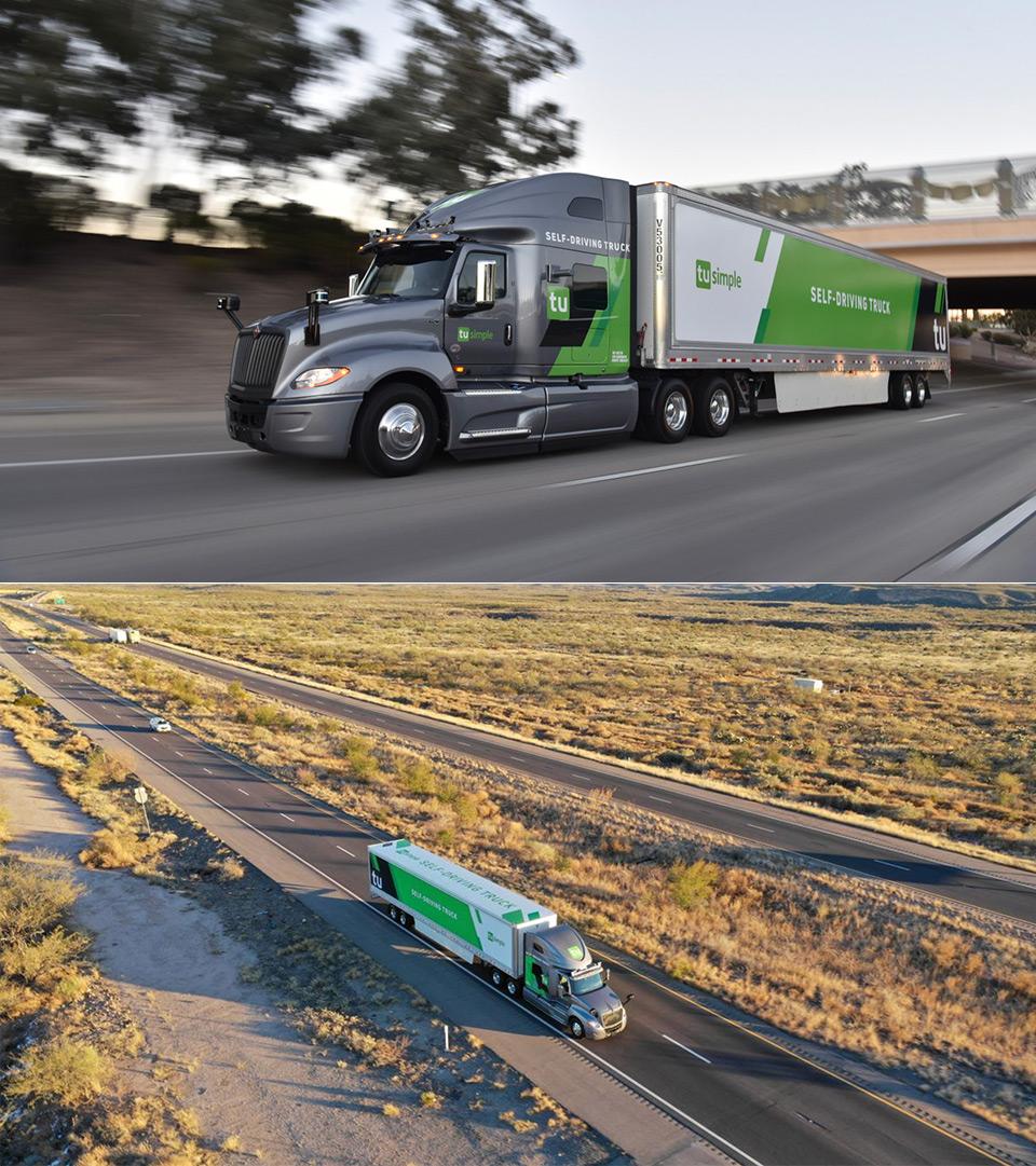 USPS Autonomous Trucks