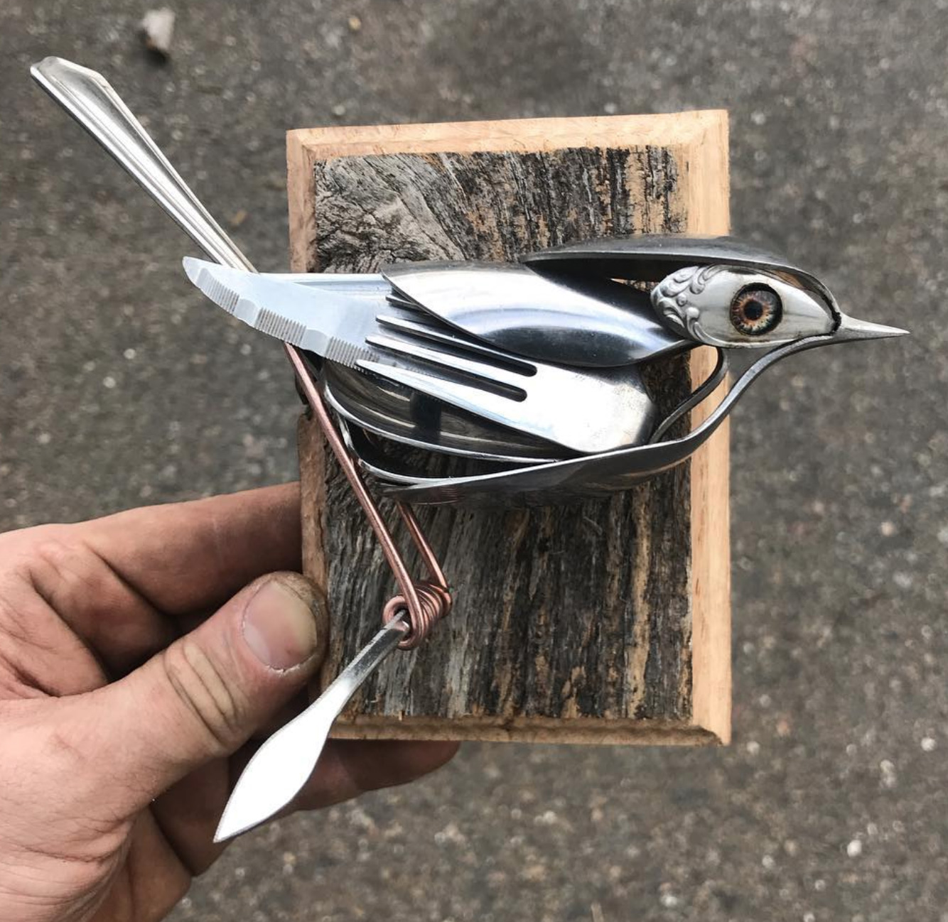 Utensil Animal Sculpture