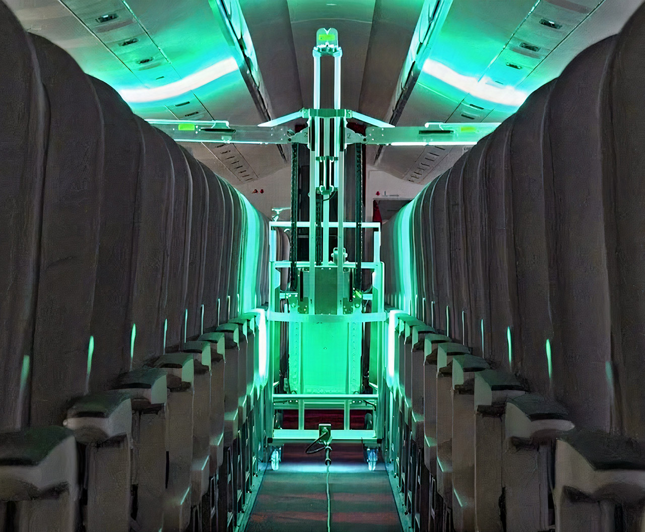 UVeya Airplane Robot UV Light