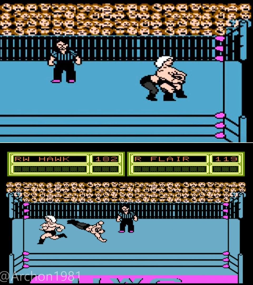 NES Pro Wrestling Game