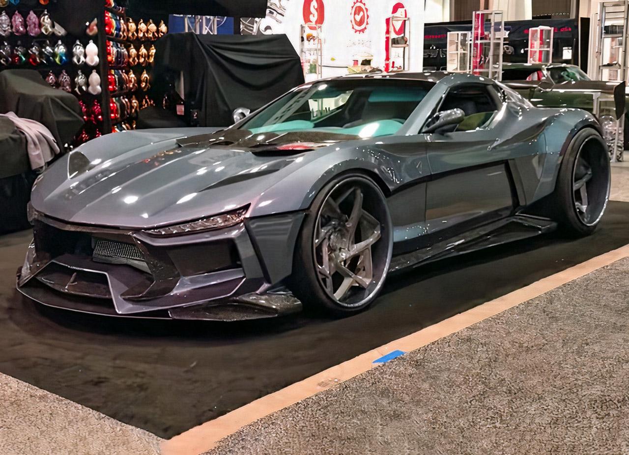 Valarra Corvette C6 Supercar Body Kit