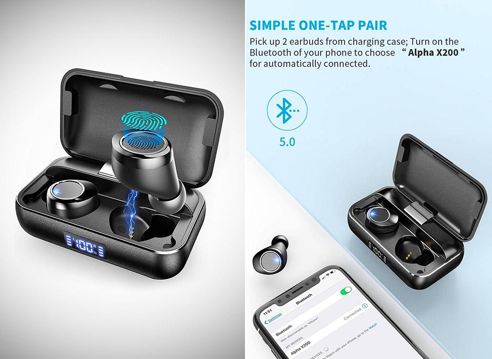 Vankyo X200 Bluetooth 5.0 True Wireless Earbuds