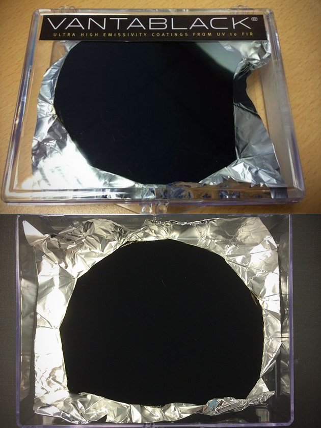 Vantablack Blackest Substance