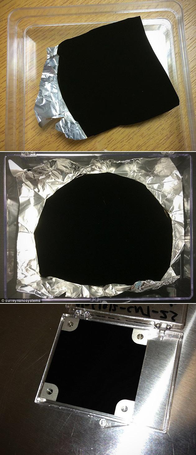 Vantablack World's Blackest Material
