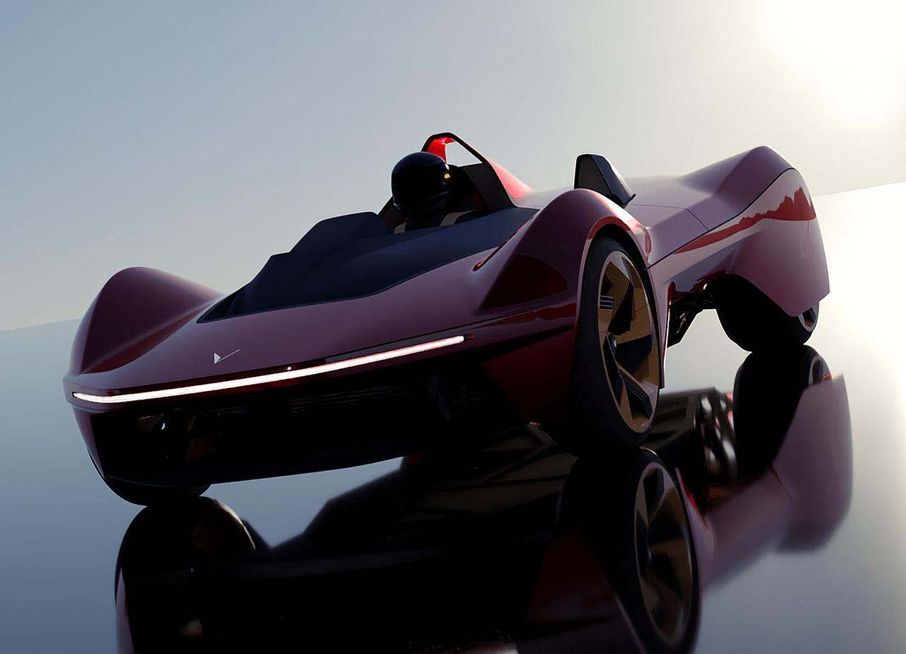 Vazirani Automotive Ekonk Lightest Electric Vehicle EV