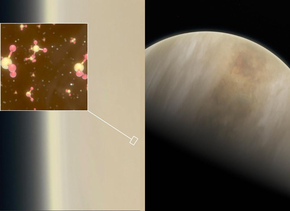 Venus Atmosphere Life