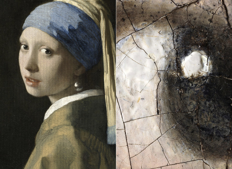Vermeer Girl with a Pearl Earring 10-Gigapixel
