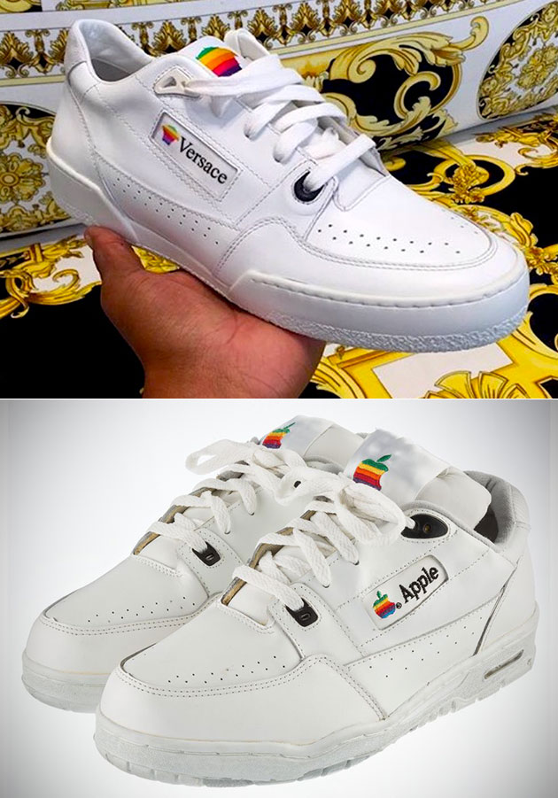 Versace Apple Sneakers