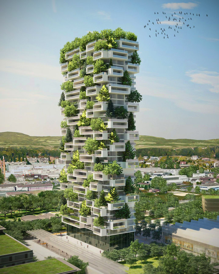 Vertical Forest Skyscraper
