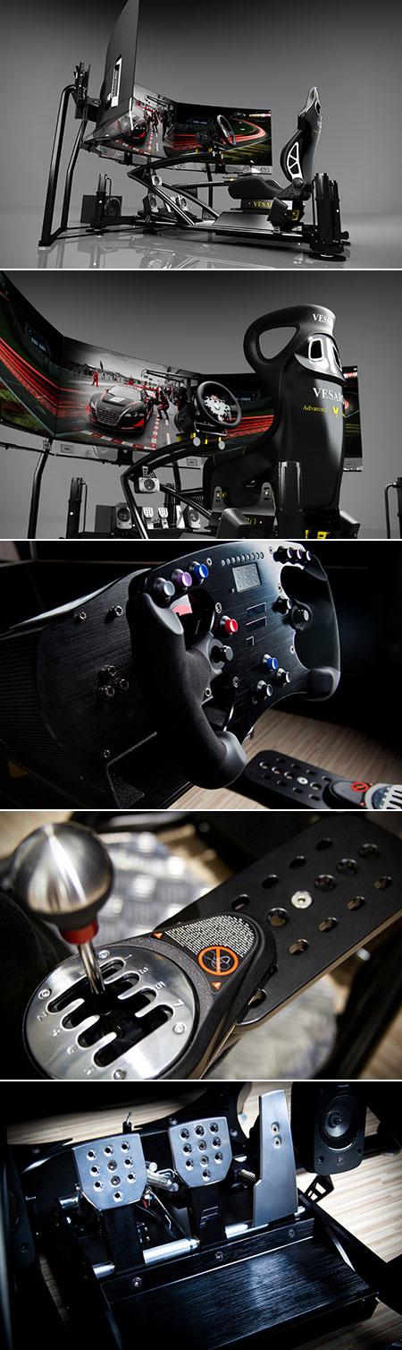 Vesaro Full-Motion Racing Simulator