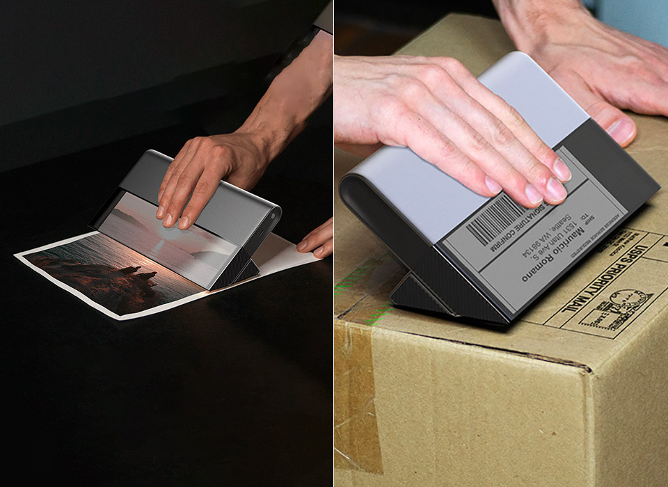 VIA Portable Printer Scanner