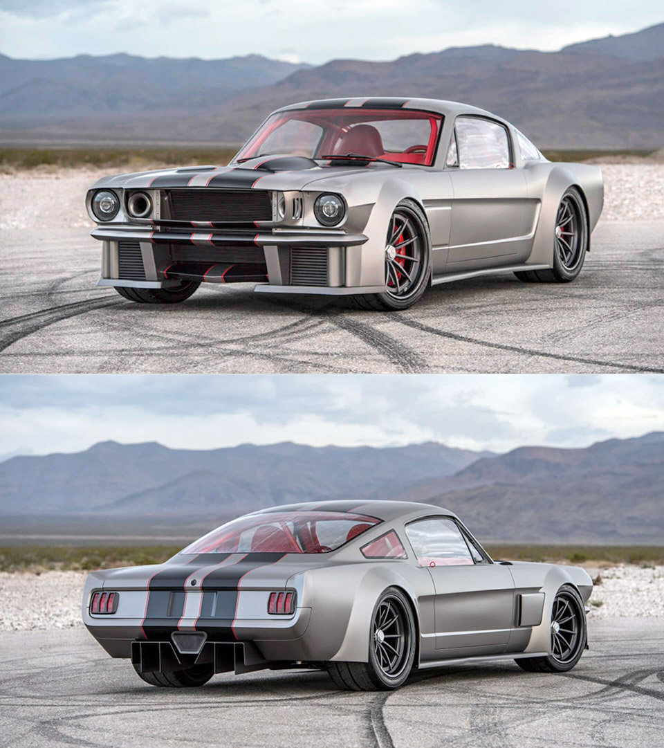 Vicious ford Mustang