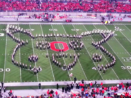 Geeky Marching Band Pays