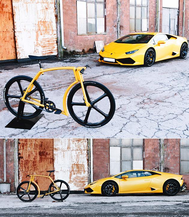 Viks GT Lamborghini Bike