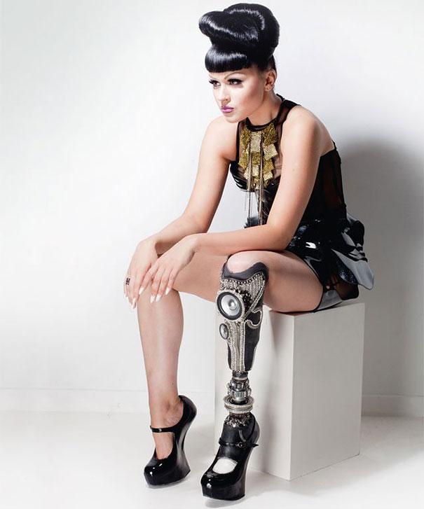 Viktoria Modesta Amputee Pop star