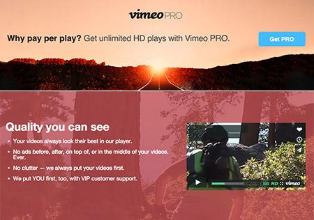 Vimeo PRO Review
