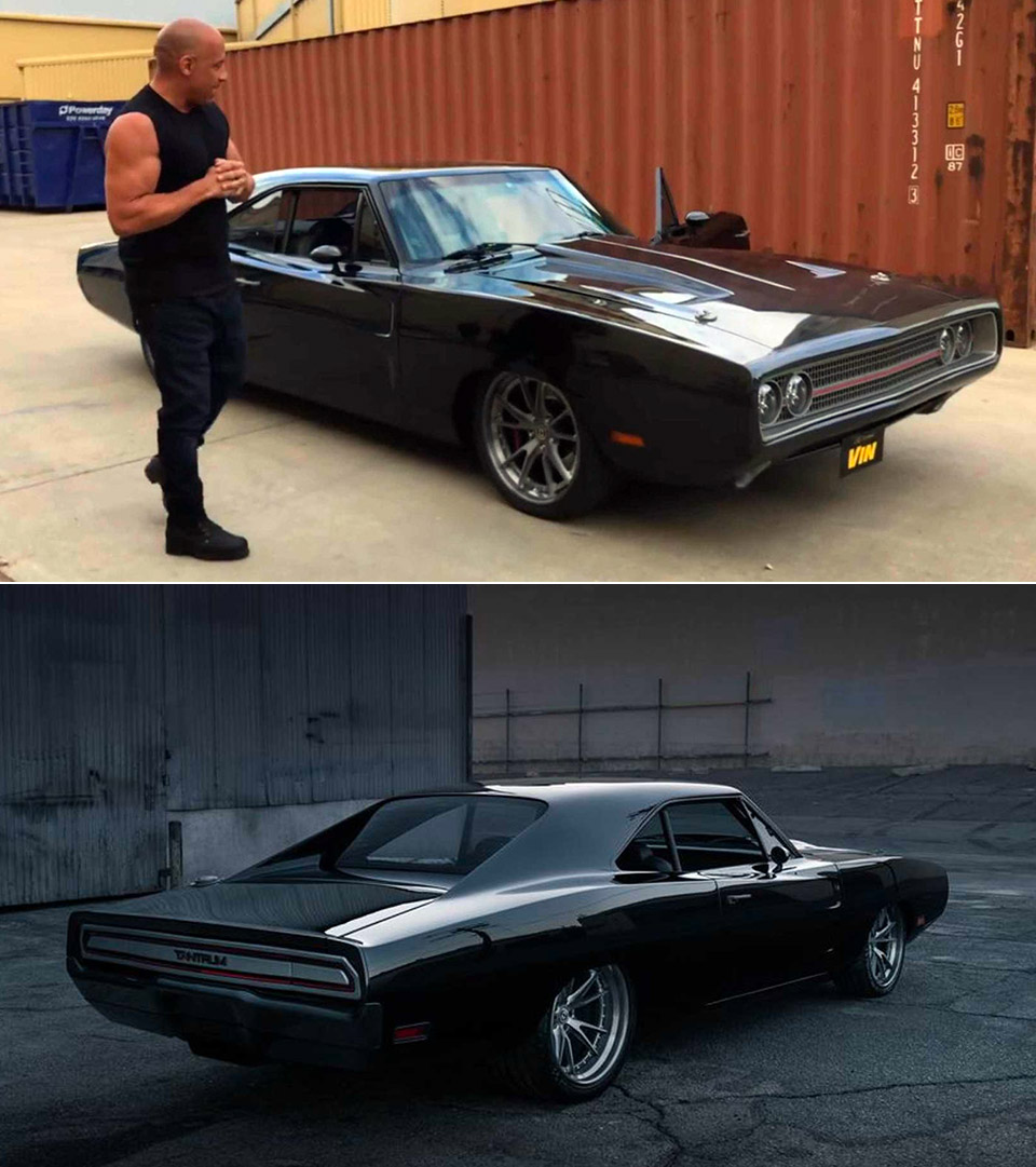 Vin Diesel Dodge Charger Tantrum Fast and Furious 9