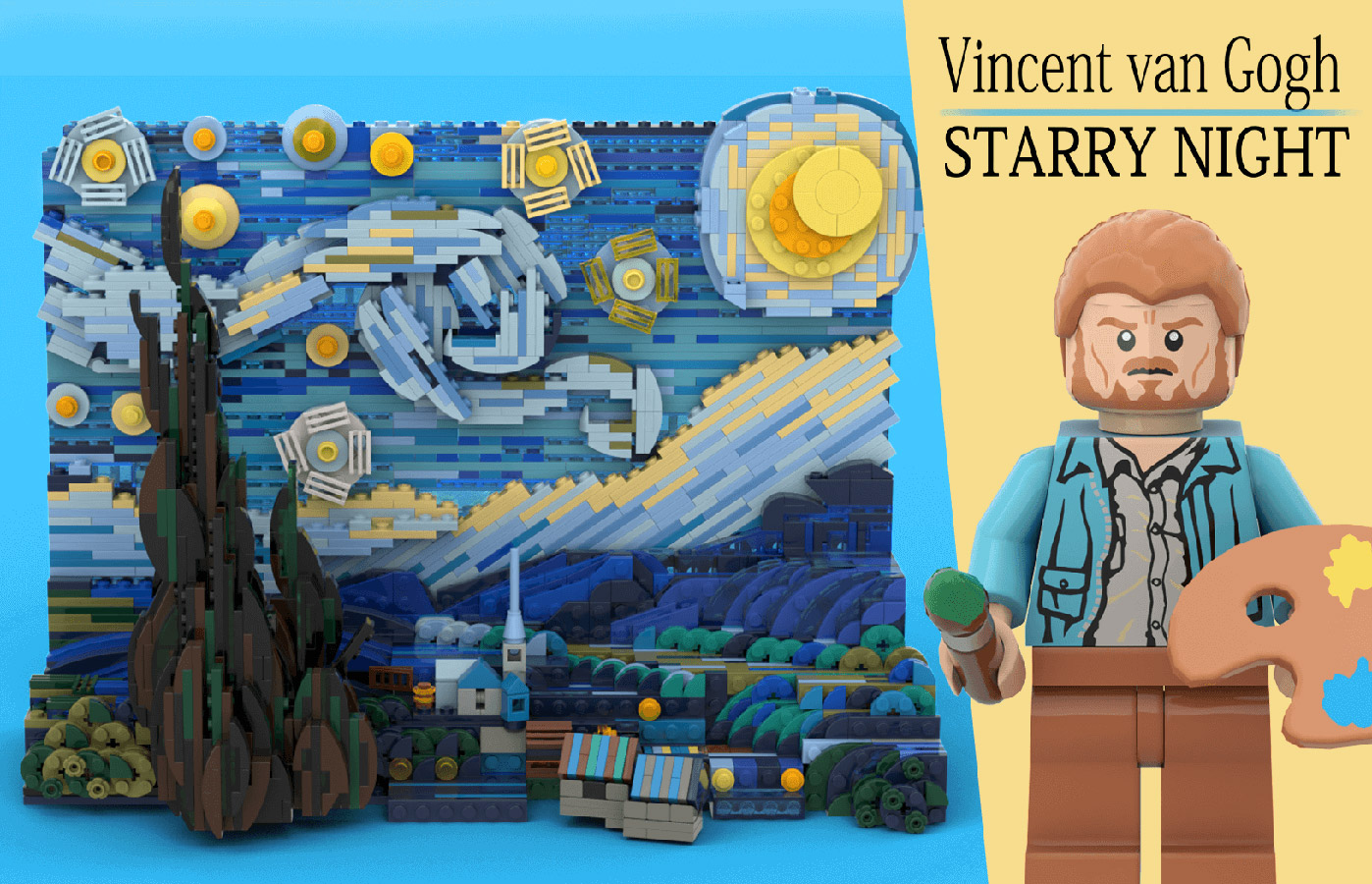 Vincent van Gogh Starry Night LEGO Ideas