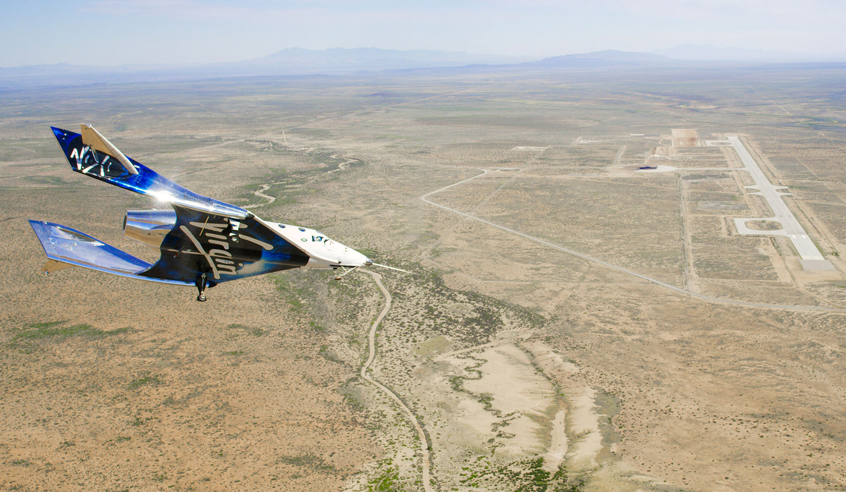 Virgin Galactic SpaceShipTwo Spaceport America