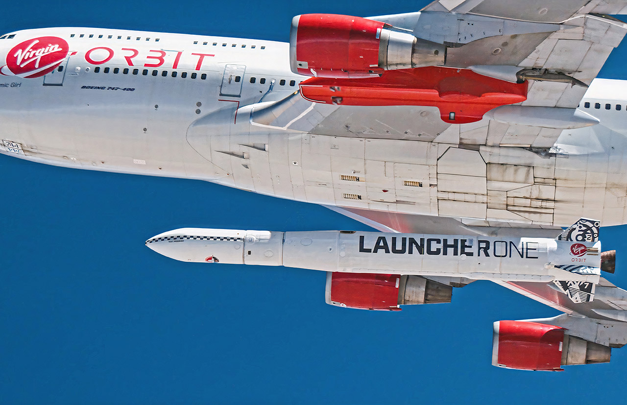 Virgin Orbit LauncherOne Rocket